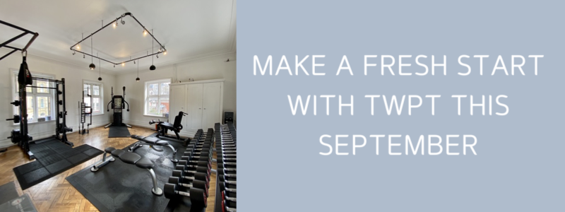 ​Make a fresh start with TWPT this September